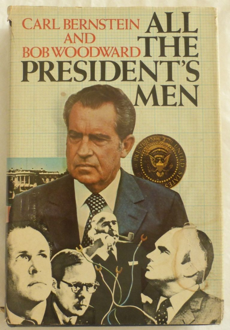 a history of the watergate scandal presented in all the presidents men All the president's men and 4 other first to portray the watergate scandal of the most infamous events in american political history.